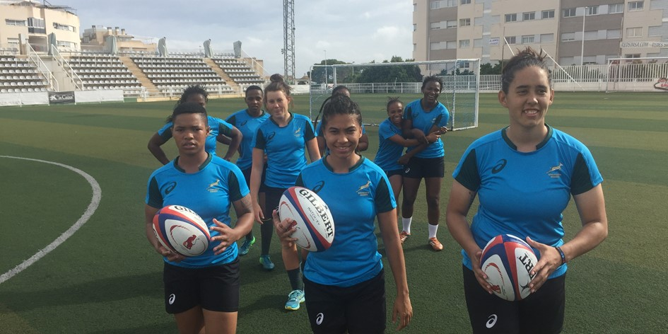 The Springbok Women had a memorable International Women's Day on Monday with a visit by Springbok scrum coach Daan Human as they continue their preparations in Stellenbosch for the Rugby World Cup.