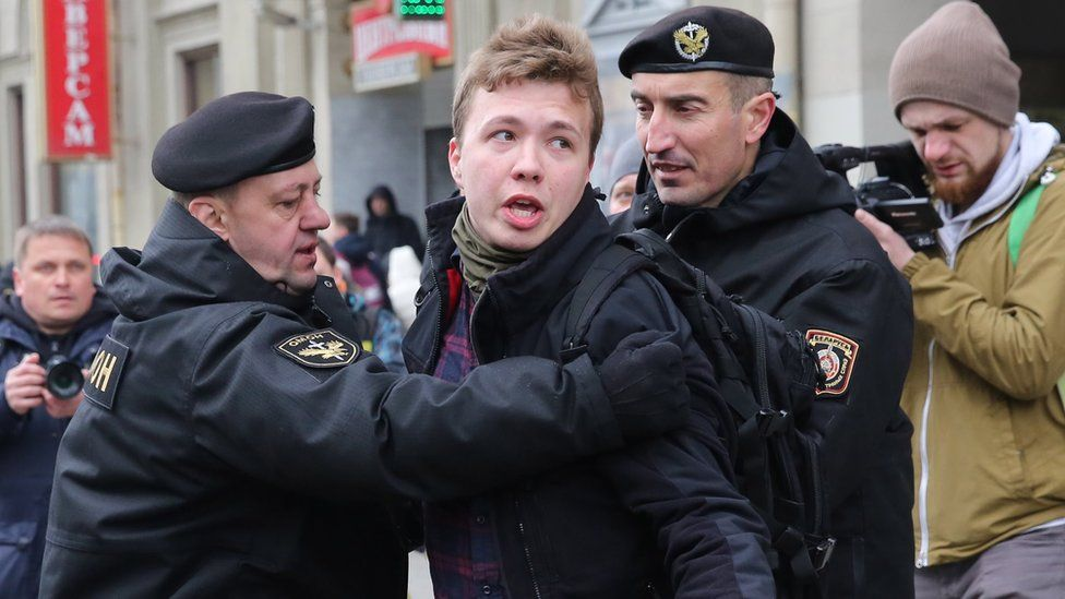 With brazen dissident arrest, Belarus finds itself more isolated than ever