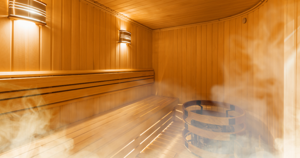 Can't face running? Have a hot bath or a sauna instead